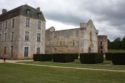 Visite abbaye de la reau du 14 mai 2017 1