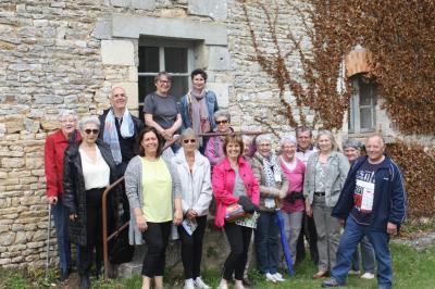 Visite abbaye de la reau du 14 mai 2017 46