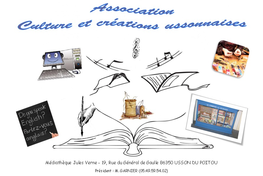 Association  CULTURE et CREATIONS USSONNAISES